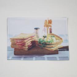 Toalha de mesa individual sanduíche