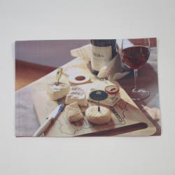 Toalha de queijo individual foto