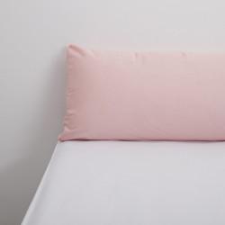 Cobertura de travesse cor-de-rosa tencel