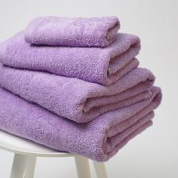 Toalha de algodão 550 gr / m2 lavanda 22