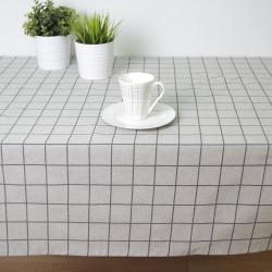 Toalha de mesa anti-manchas quadrada Eco
