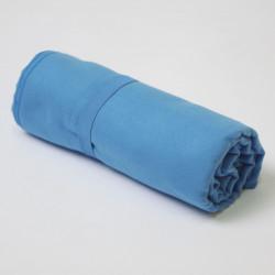 Toalha de microfibra azul