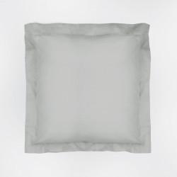 Capa de almofada 60x60 cinza pérola básico 23