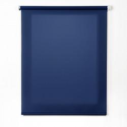 Tecido roll-up translúcido azul marinho
