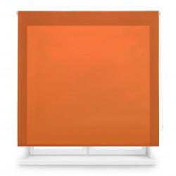 Tecido translúcido laranja de rolo