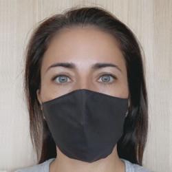Máscara higiênica virobloco preto