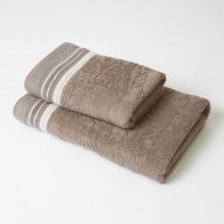 Conjunto de toalhas de linho scarlett 2p