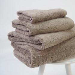 Toalha de algodão orgânico 600 gr / m2 bege
