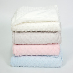 Cobertor do bebê mini bolhas