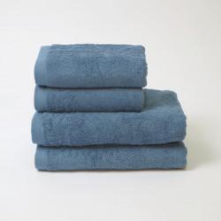 Toalha de algodão 550 gr / m2 cobalto