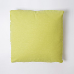 Capa de almofada 43x43 lona lisa c / pistache