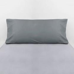 Fronha de algodão cinza