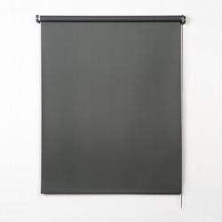 Enrollable matt cinza escuro tecido
