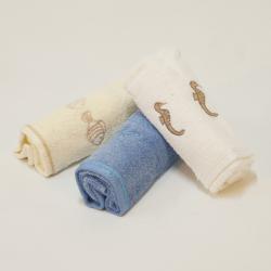 Toalete toalhas 3p. mar