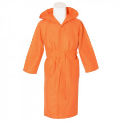 Orange microfiber veste de adultos