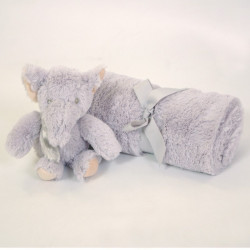 Manta + ursinho elefante box