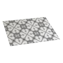 Bcn vinil carpete cinza 45x75